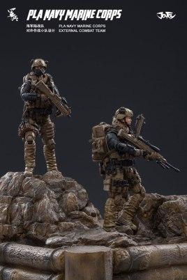Joy Toy Pla Navy Marine Corps and Dio - Surveillance Port 19