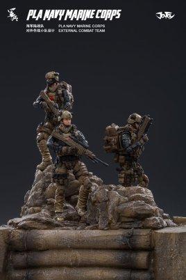 Joy Toy Pla Navy Marine Corps and Dio - Surveillance Port 20