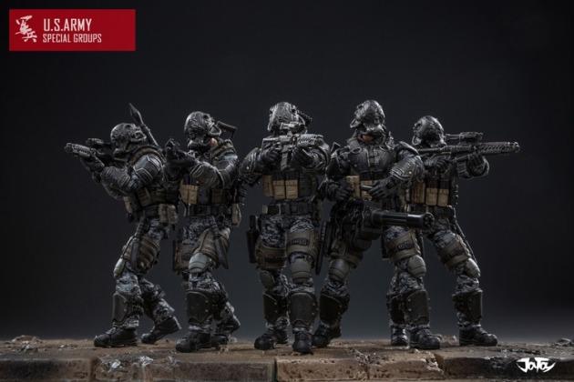 Joy Toy US Army Special Groups - Surveillance Port 01