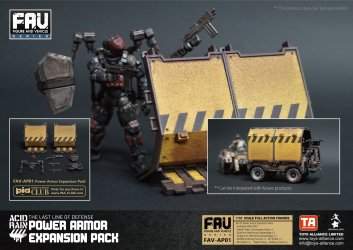 Toys Alliance Acid Rain World FAV-AP01 Power Armor Enhancement Pack - Surveillance Port 01 (3)