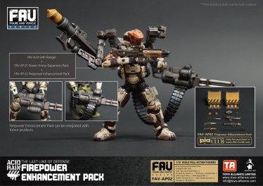 Toys Alliance Acid Rain World FAV-AP02 Firepower Enhancement Pack - Surveillance Port 02