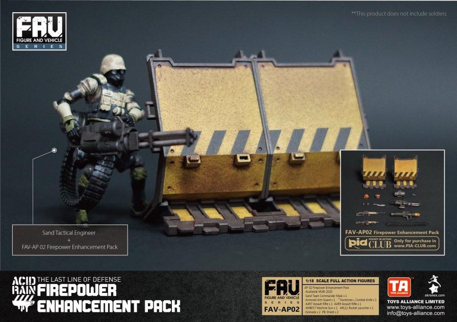 Toys Alliance Acid Rain World FAV-AP02 Firepower Enhancement Pack - Surveillance Port 05