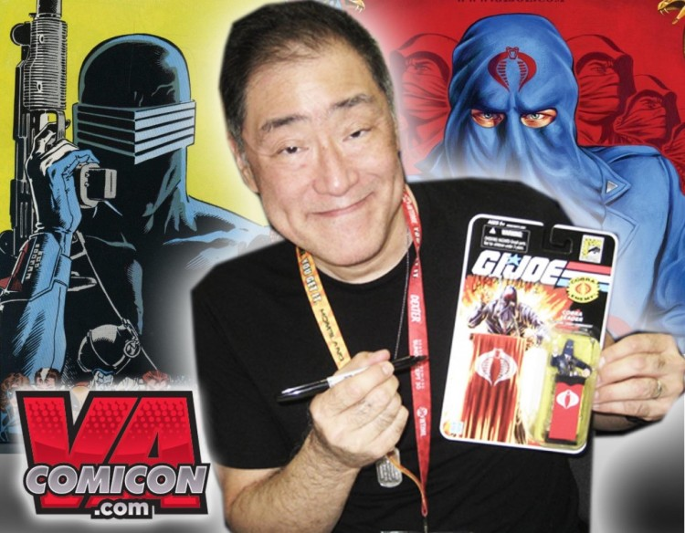 VA ComiCon Larry Hama - Surveillance Port