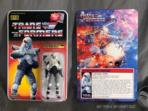 Airmax Transformers vs GI Joe Custom Crossover Prowl - Surveillance Port 01