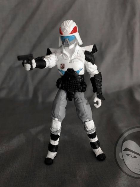 Airmax Transformers vs GI Joe Custom Crossover Prowl - Surveillance Port 03