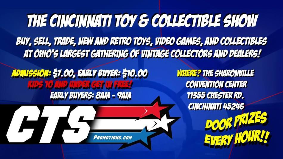Cincinnati Toy Show Banner - Surveillance Port