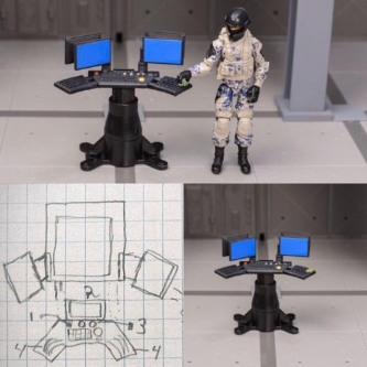 Complex Series 2 - Surveillance Port 04
