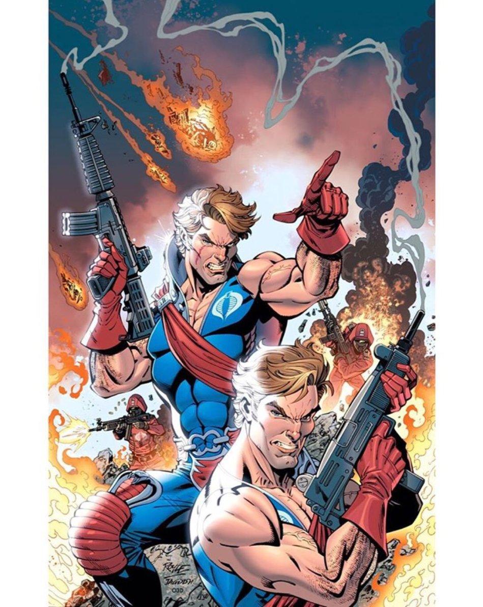 IDW Publishing GI Joe A Real American Hero 267 RI Cover Artwork - Surveillance Port