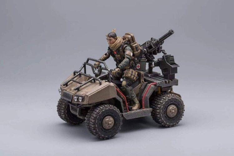 Joy Toy Hardcore ColdPlay Quad Vehicle - Surveillance Port 01