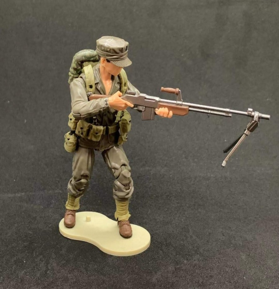 Marauder Task Force WWII Marine BAR Gunner - Surveillance Port 03