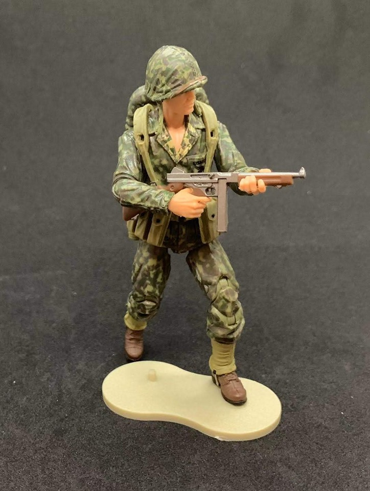 Marauder Task Force WWII Marine Camo Thompson Gunner - Surveillance Port 05