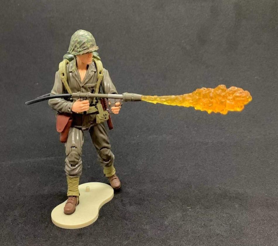 Marauder Task Force WWII Marine Flamethrower - Surveillance Port 04