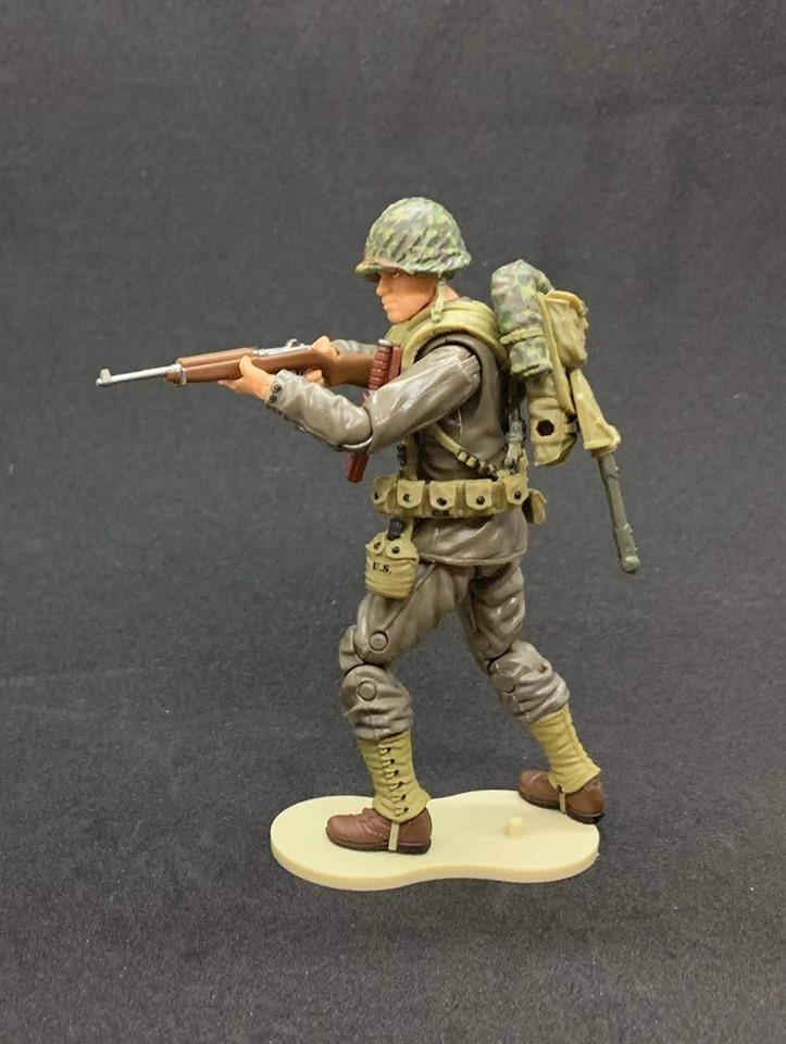 Marauder Task Force WWII Marine Rifleman - Surveillance Port 02
