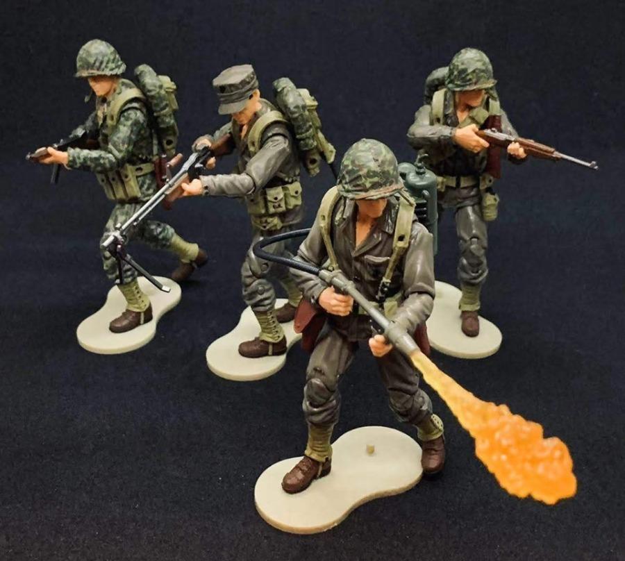Marauder Task Force WWII Marines - Surveillance Port 01