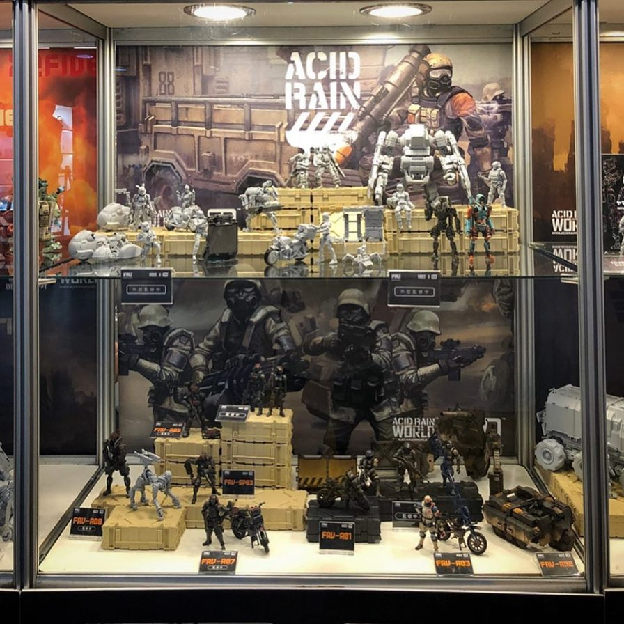 Taipei Toy Festival 2019 Acid Rain World Display - Surveillance Port 01 (4)