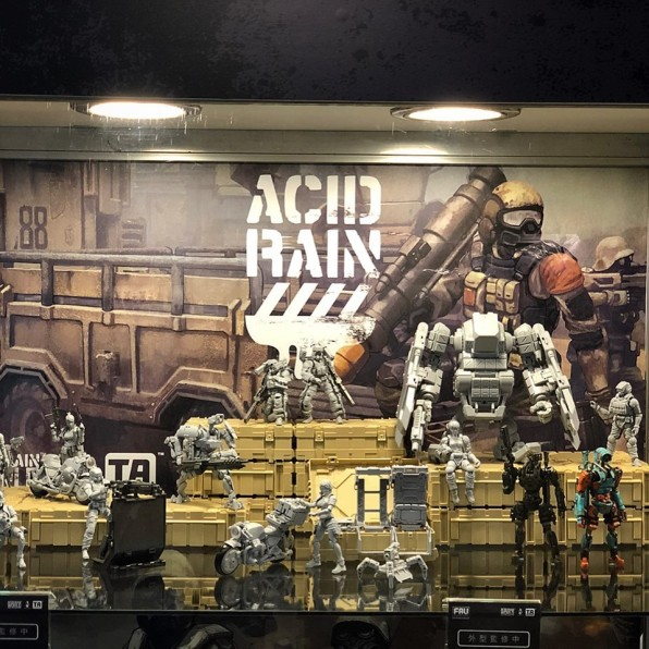 Taipei Toy Festival 2019 Acid Rain World Display - Surveillance Port 05 (1)
