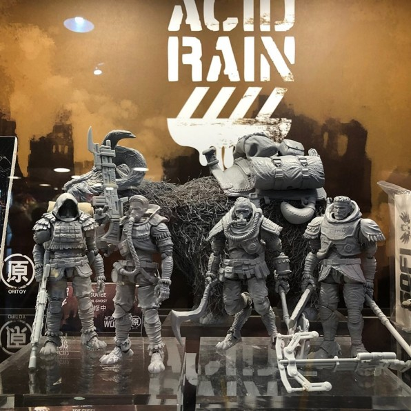 Taipei Toy Festival 2019 Acid Rain World Display - Surveillance Port 10 (1)