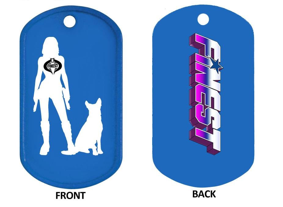 The Finest 2019 K9 For Warriors Dog Tag - Surveillance Port
