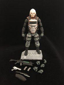 Valaverse Action Force Bone Colector - Surveillance Port 01