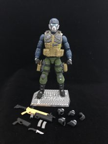 Valaverse Action Force Steel Brigade - Surveillance Port 01
