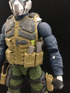 Valaverse Action Force Steel Brigade - Surveillance Port 04