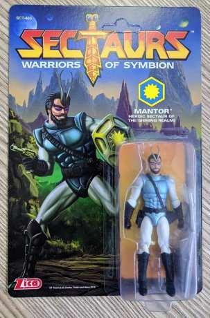 Zica Toys Sectaurs Mantor 01 - Surveillance Port