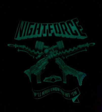 Code Name Iowa Assembly Required 2019 Night Force GITD Tee - Surveillance Port 02