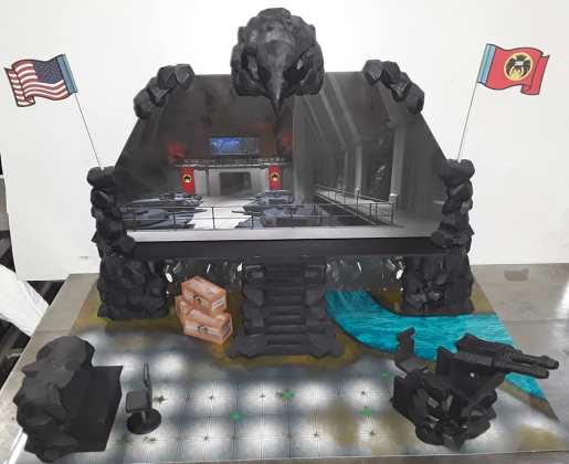 Eagle Force Returns Eagle Island Playset - Surveillance Port 01