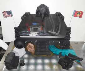 Eagle Force Returns Eagle Island Playset - Surveillance Port 02
