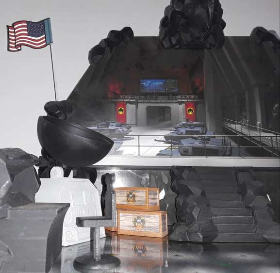Eagle Force Returns Eagle Island Playset - Surveillance Port 06