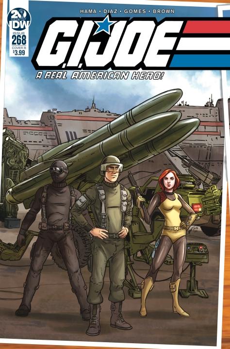 IDW Publishing GI Joe ARAH 268 Cover B - Surveillance Port