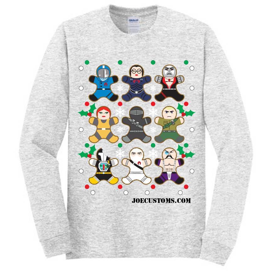 Joe Customs Exclusive 2019 Ugly Sweater - Surveillance Port