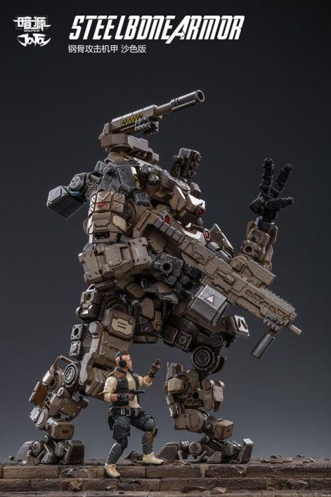 Joy Toy 1 24 Scale Steelbone Armor Mech - Surveillance Port 09