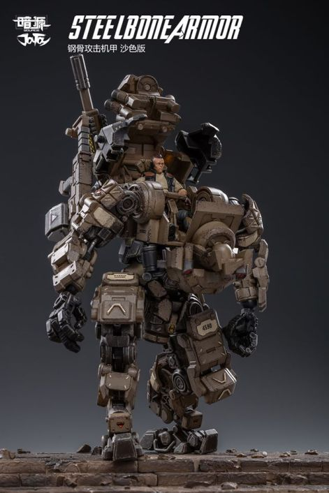 Joy Toy 1 24 Scale Steelbone Armor Mech - Surveillance Port 10