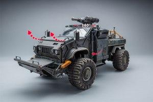 Joy Toy 118 Scale Hurricane Off Road Vehicle - Surveillance Port 10