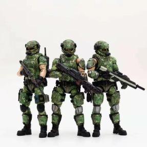 Joy Toy 118 Scale Soldier Series Russian Army Camo Version - Surveillance Port 01