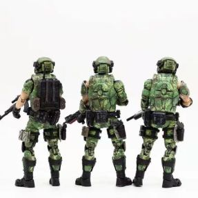 Joy Toy 118 Scale Soldier Series Russian Army Camo Version - Surveillance Port 02