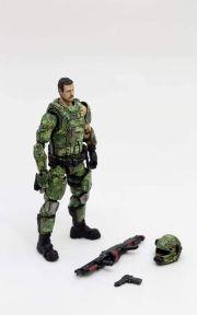 Joy Toy 118 Scale Soldier Series Russian Army Camo Version - Surveillance Port 03