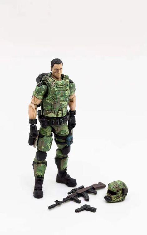 Joy Toy 118 Scale Soldier Series Russian Army Camo Version - Surveillance Port 05