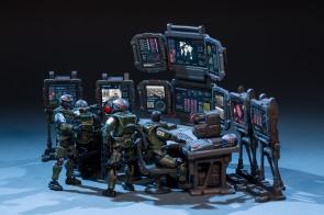 Joy Toy 124 Scale Source Series Battlefield Command Center - Surveillance Port 02