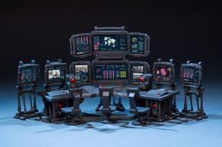 Joy Toy 124 Scale Source Series Battlefield Command Center - Surveillance Port 03