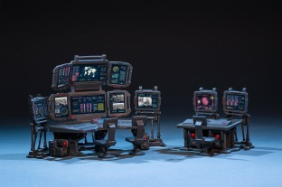 Joy Toy 124 Scale Source Series Battlefield Command Center - Surveillance Port 04