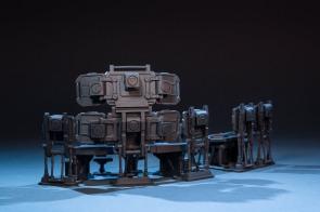 Joy Toy 124 Scale Source Series Battlefield Command Center - Surveillance Port 05
