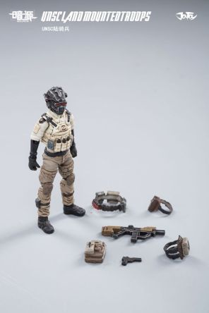 JOY TOY124 Inch Scale SOURCE series UNSC Team Land Mounted Troops - Surveillance Port 05