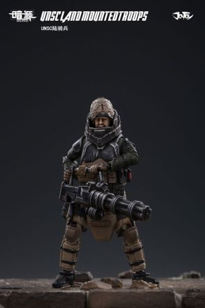 JOY TOY124 Inch Scale SOURCE series UNSC Team Land Mounted Troops - Surveillance Port 06