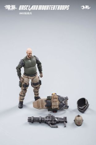 JOY TOY124 Inch Scale SOURCE series UNSC Team Land Mounted Troops - Surveillance Port 07