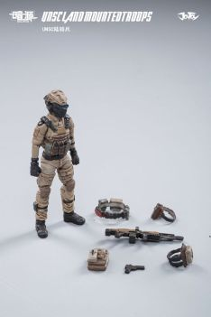 JOY TOY124 Inch Scale SOURCE series UNSC Team Land Mounted Troops - Surveillance Port 09