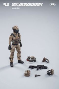 JOY TOY124 Inch Scale SOURCE series UNSC Team Land Mounted Troops - Surveillance Port 11