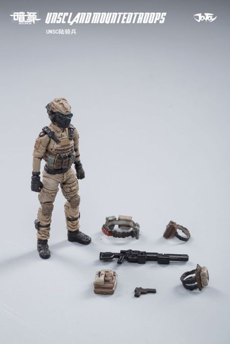 JOY TOY124 Inch Scale SOURCE series UNSC Team Land Mounted Troops - Surveillance Port 13