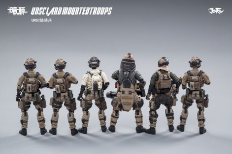 JOY TOY124 Inch Scale SOURCE series UNSC Team Land Mounted Troops - Surveillance Port 15